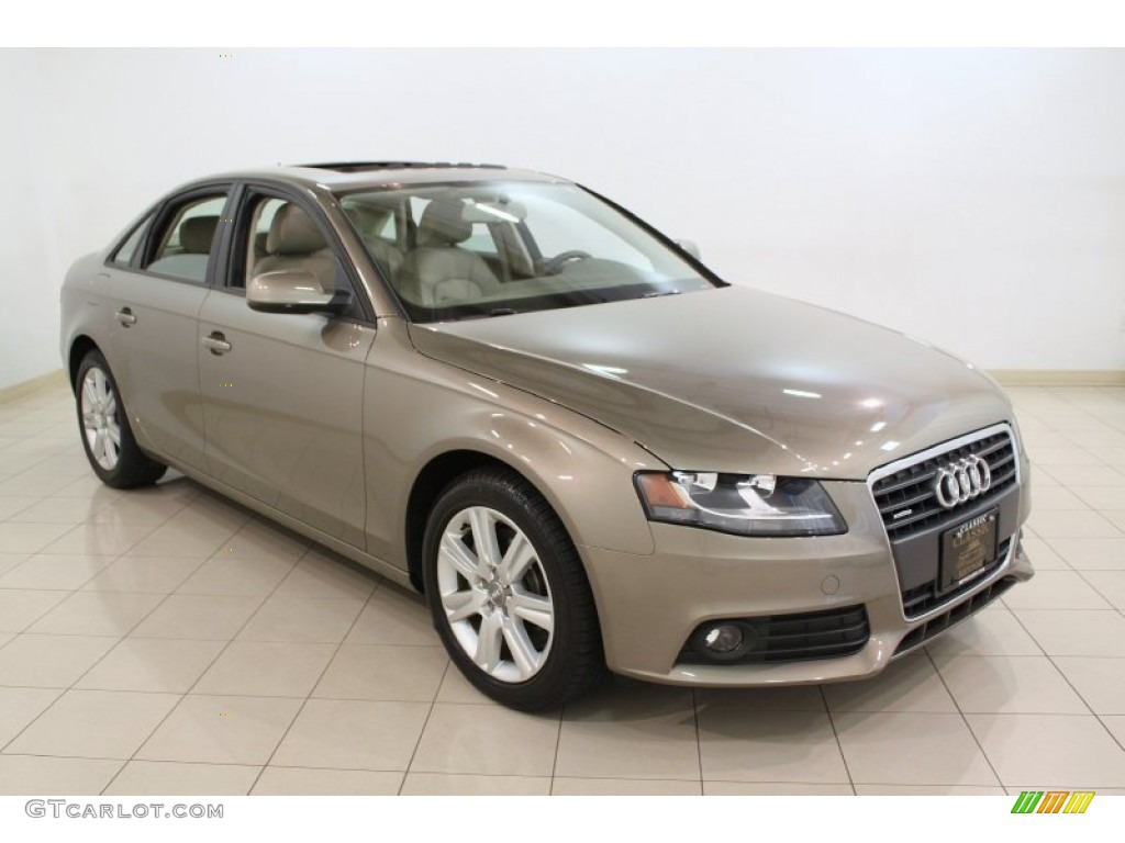 2011 dakar beige metallic audi a4 2 0t quattro sedan 65681215 car color galleries. Black Bedroom Furniture Sets. Home Design Ideas