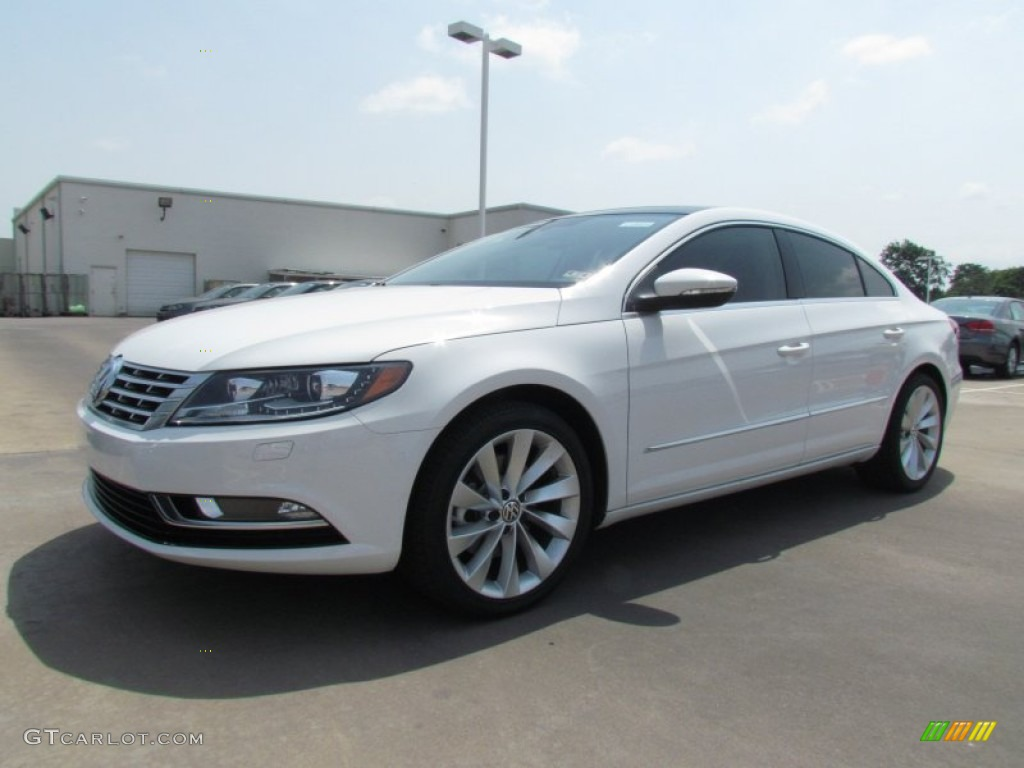 Candy White 2013 Volkswagen Cc V6 Lux Exterior Photo