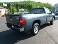 2012 Blue Granite Metallic Chevrolet Silverado 1500 Work Truck Regular Cab 4x4  photo #7