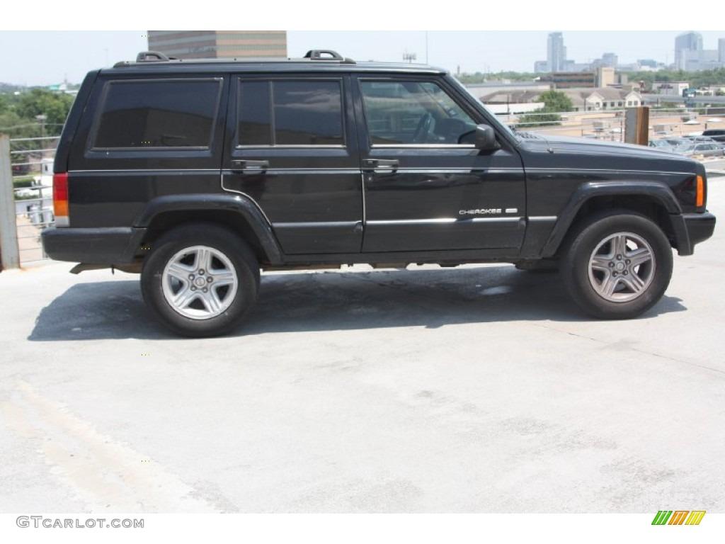 Black 2000 Jeep Cherokee Limited Exterior Photo 65695590