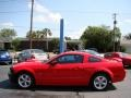 2007 Torch Red Ford Mustang GT Coupe  photo #5