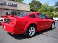 2007 Torch Red Ford Mustang GT Coupe  photo #8