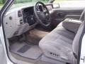 Pewter Gray 1997 GMC Sierra 1500 Interiors