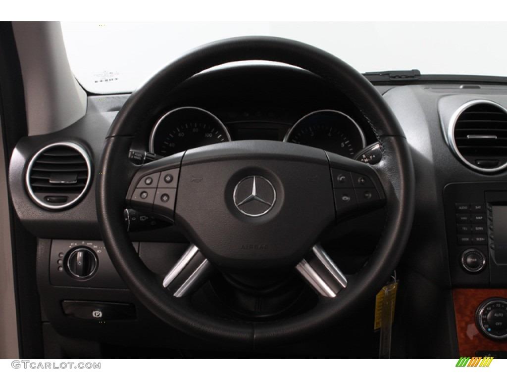2007 mercedes benz ml 350 4matic black steering wheel for Mercedes benz steering wheel control buttons