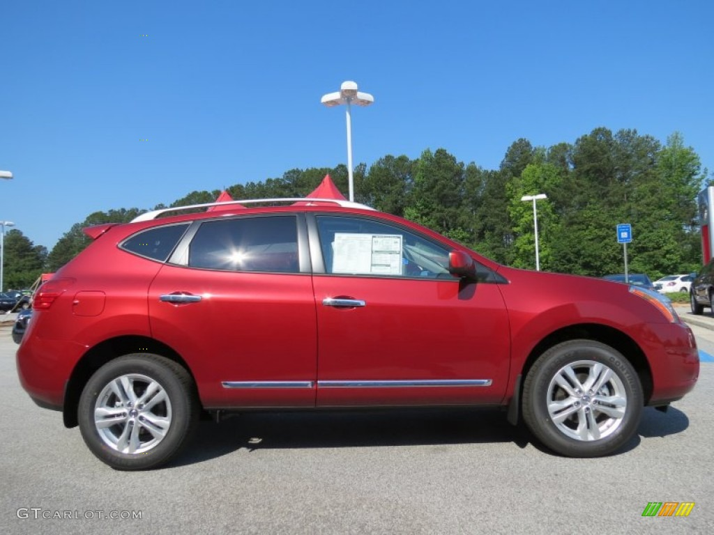 Cayenne Red 2012 Nissan Rogue Sv Exterior Photo 65711633