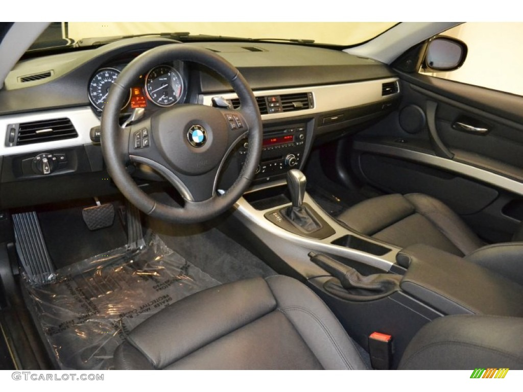 Black Interior 2010 BMW 3 Series 328i Coupe Photo 65718350