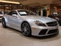 Iridium Silver Metallic 2009 Mercedes-Benz SL 65 AMG Black Series Coupe