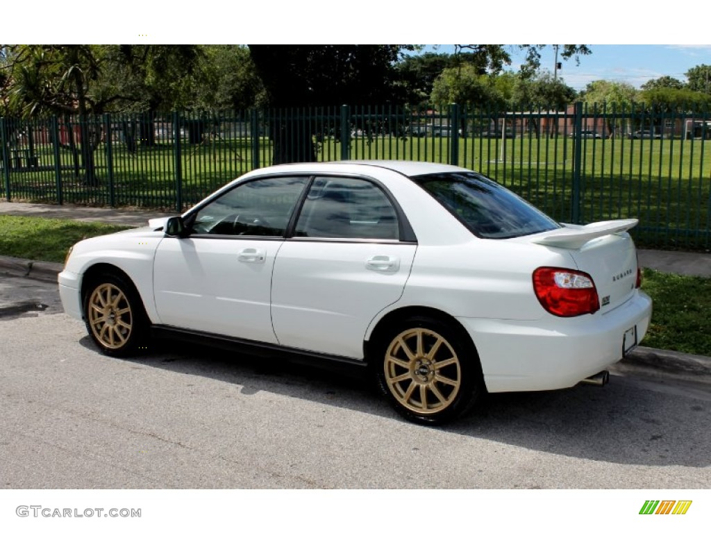 Aspen White 2004 Subaru Impreza Wrx Sedan Exterior Photo 65726538 Gtcarlot Com