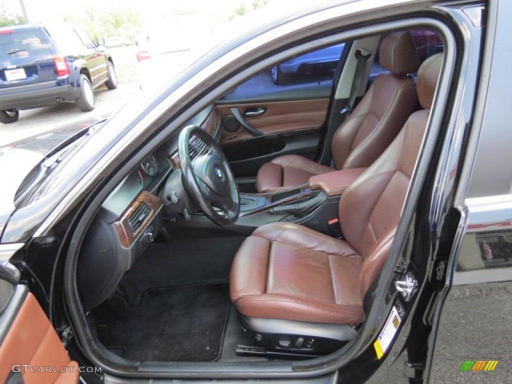 Terra black dakota leather interior 2006 bmw 3 series 330i sedan photo 65726986 gtcarlot com