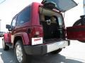 2012 Deep Cherry Red Crystal Pearl Jeep Wrangler Sahara 4x4  photo #14