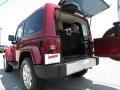 2012 Deep Cherry Red Crystal Pearl Jeep Wrangler Sahara 4x4  photo #14