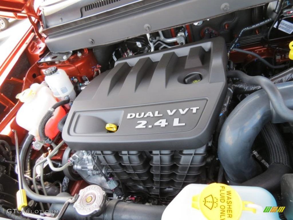 2012 Dodge Journey Sxt 2 4 Liter Dohc 16 Valve Dual Vvt 4