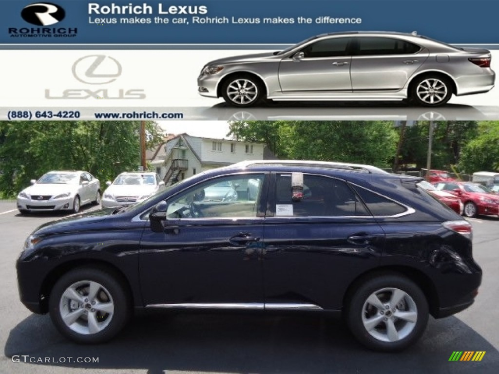 2013 deep sea blue mica lexus rx 350 awd 65680956 car color galleries. Black Bedroom Furniture Sets. Home Design Ideas