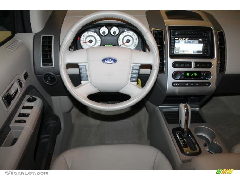 2007 ford edge sel plus awd medium light stone dashboard. Black Bedroom Furniture Sets. Home Design Ideas