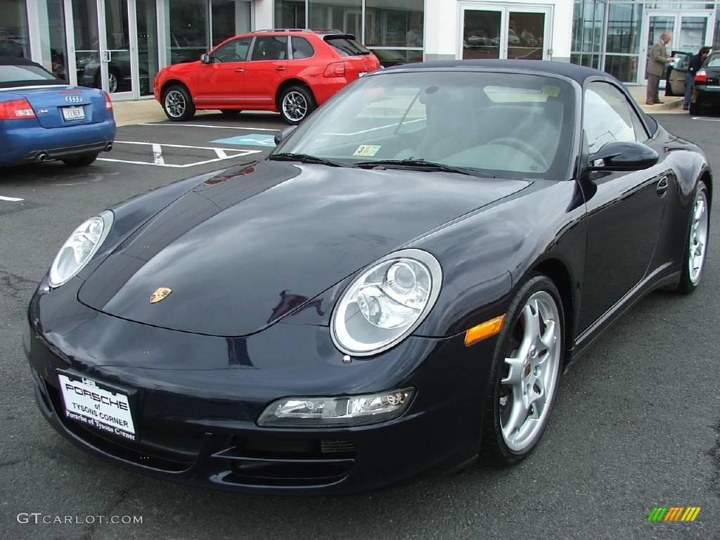 2006 midnight blue metallic porsche 911 carrera 4s. Black Bedroom Furniture Sets. Home Design Ideas