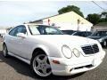Glacier White 2000 Mercedes-Benz CLK 430 Coupe