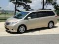 2011 Sandy Beach Metallic Toyota Sienna XLE  photo #9