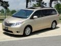 2011 Sandy Beach Metallic Toyota Sienna XLE  photo #10