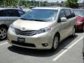 2011 Sandy Beach Metallic Toyota Sienna XLE  photo #40