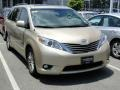 2011 Sandy Beach Metallic Toyota Sienna XLE  photo #41