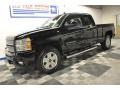 2012 Black Chevrolet Silverado 1500 LTZ Extended Cab 4x4  photo #24