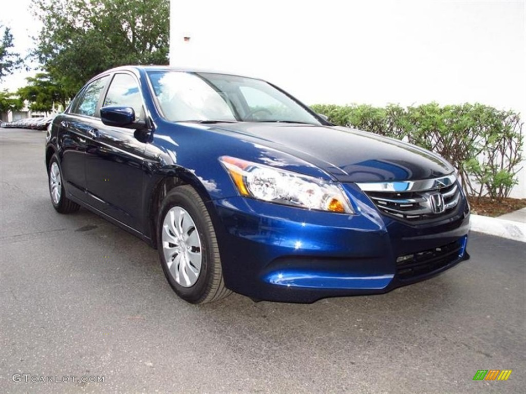 2012 Royal Blue Pearl Honda Accord Lx Sedan 65753007 Gtcarlot Com Car Color Galleries