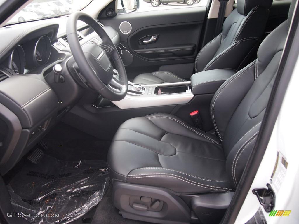 Ebony interior 2012 land rover range rover evoque prestige - 2012 range rover interior pictures ...