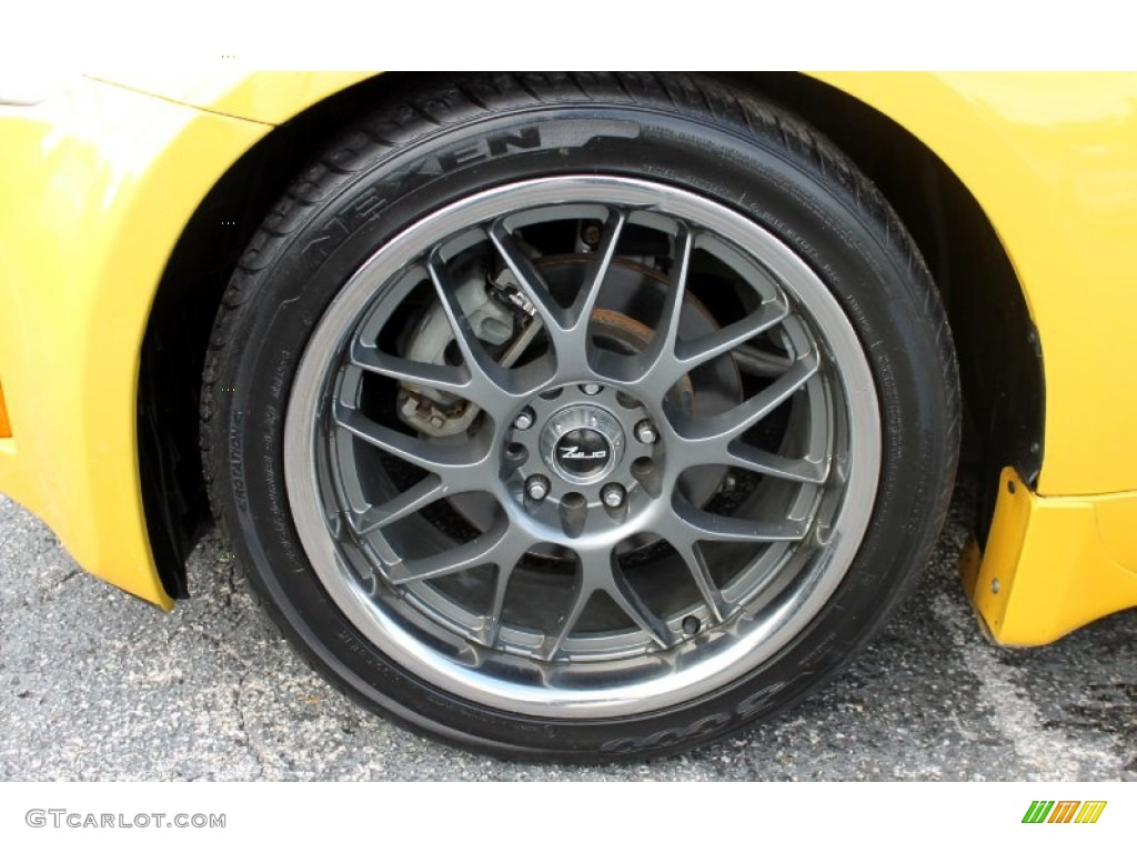 2005 Nissan 350z Touring Coupe Custom Wheels Photos