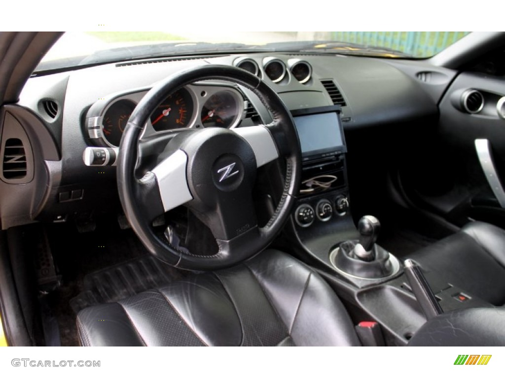 2005 nissan 350z touring coupe charcoal dashboard photo. Black Bedroom Furniture Sets. Home Design Ideas