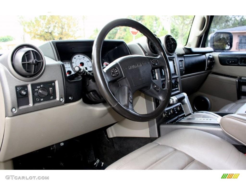 2003 Hummer H2 Suv Wheat Dashboard Photo 65771536