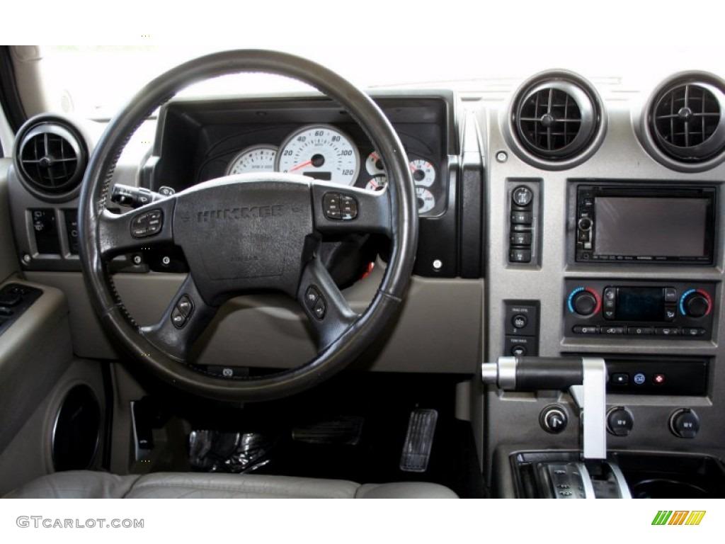 2003 Hummer H2 Suv Wheat Dashboard Photo 65771548