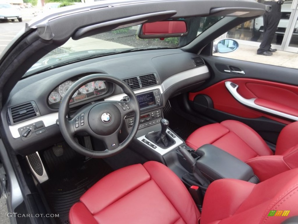 Imola Red Interior 2006 Bmw M3 Convertible Photo 65773054