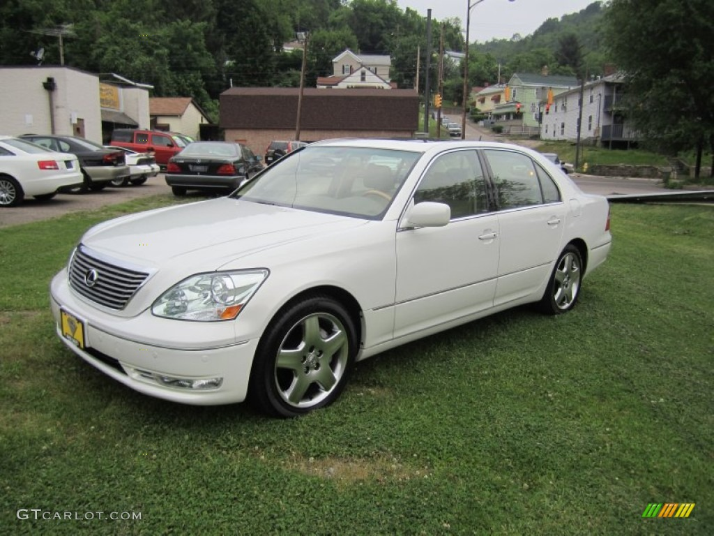 2005 Moonlight Pearl Lexus Ls 430 Sedan 65774268
