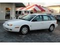 Bright White 2000 Saturn S Series SW2 Wagon