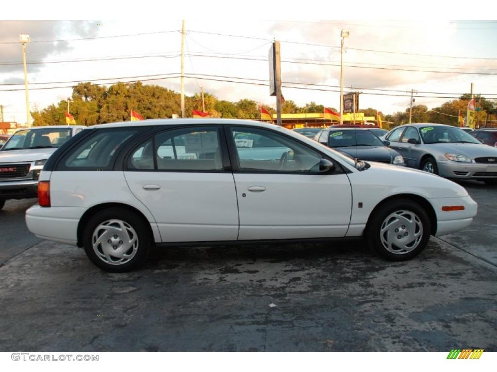 Bright White 2000 Saturn S Series Sw2 Wagon Exterior Photo