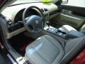 2004 Lincoln LS Dark Stone/Medium Light Stone Interior Prime Interior Photo