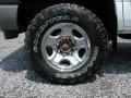 2002 Dodge Ram 2500 SLT Quad Cab 4x4 Wheel and Tire Photo