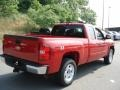 2012 Victory Red Chevrolet Silverado 1500 LT Extended Cab 4x4  photo #8