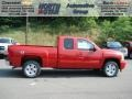 2012 Victory Red Chevrolet Silverado 1500 LT Extended Cab 4x4  photo #1