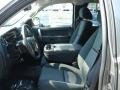 2012 Graystone Metallic Chevrolet Silverado 1500 LT Extended Cab 4x4  photo #11