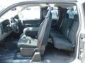 2012 Silver Ice Metallic Chevrolet Silverado 1500 LS Extended Cab 4x4  photo #14