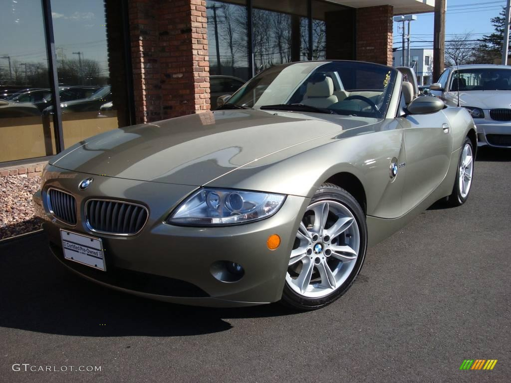 2005 Olivine Green Metallic Bmw Z4 3 0i Roadster 6563701