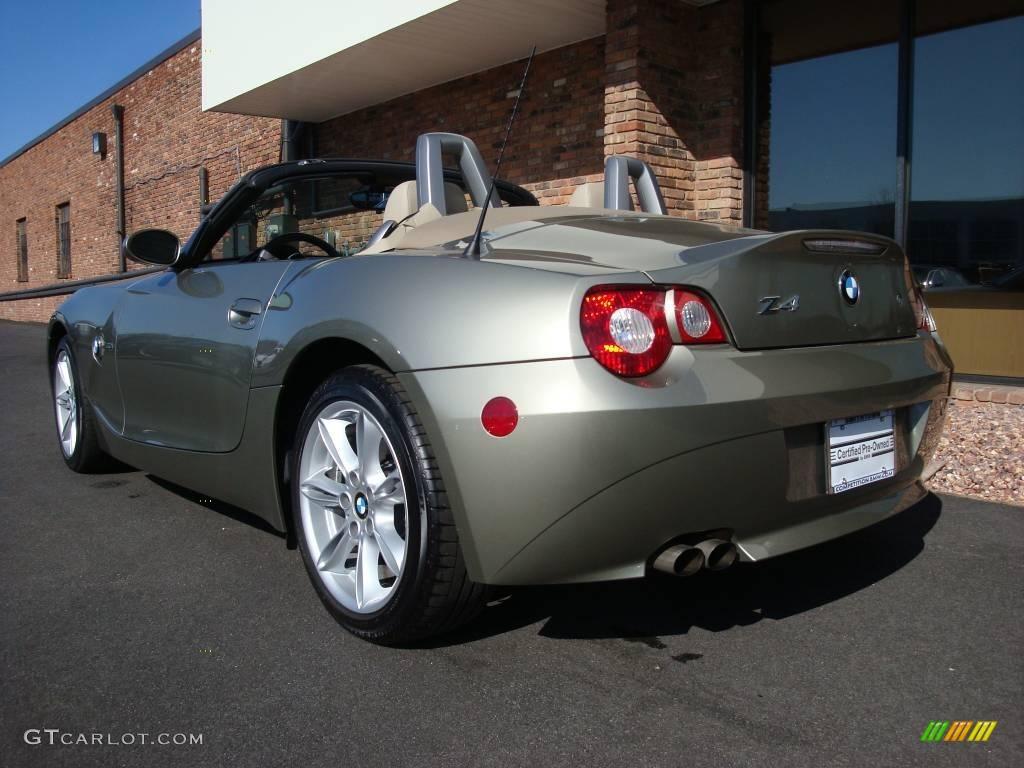 2005 Olivine Green Metallic Bmw Z4 3 0i Roadster 6563701 Photo 4 Gtcarlot Com Car Color