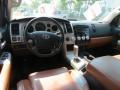 2007 Toyota Tundra Red Rock Interior Dashboard Photo