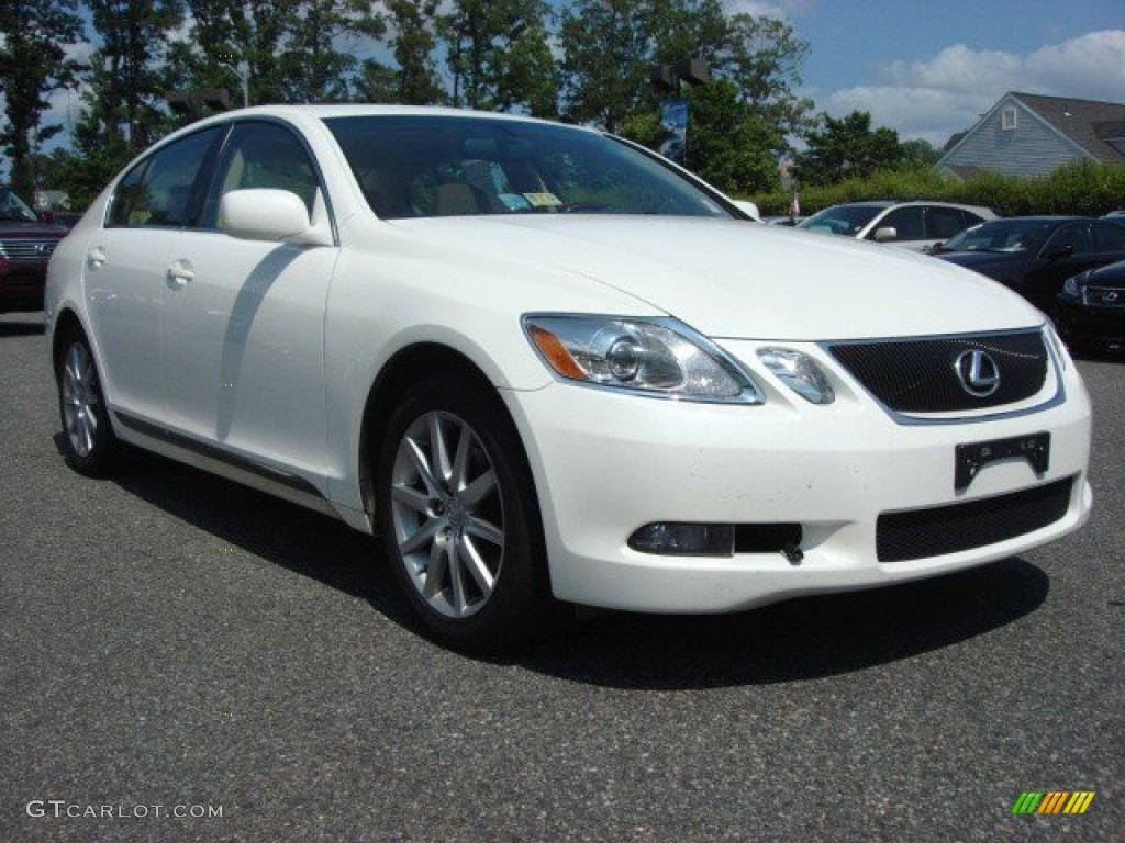 crystal white 2006 lexus gs 300 exterior photo 65795744. Black Bedroom Furniture Sets. Home Design Ideas