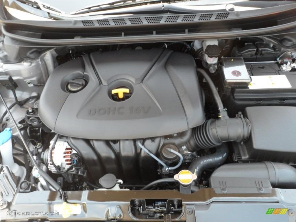 2013 Hyundai Elantra Limited 1 8 Liter Dohc 16 Valve D