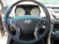 2013 Elantra Limited Steering Wheel
