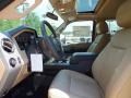 2012 Golden Bronze Metallic Ford F250 Super Duty Lariat Crew Cab 4x4  photo #3