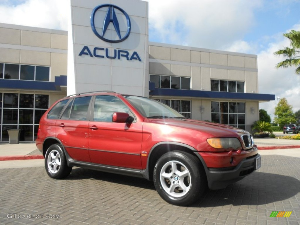 2003 sienna red metallic bmw x5 65801911 car color galleries. Black Bedroom Furniture Sets. Home Design Ideas