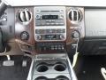2012 White Platinum Metallic Tri-Coat Ford F250 Super Duty Lariat Crew Cab 4x4  photo #30